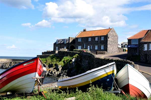 Craster Harbour and Haven Hill